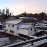今日の朝の風景です。