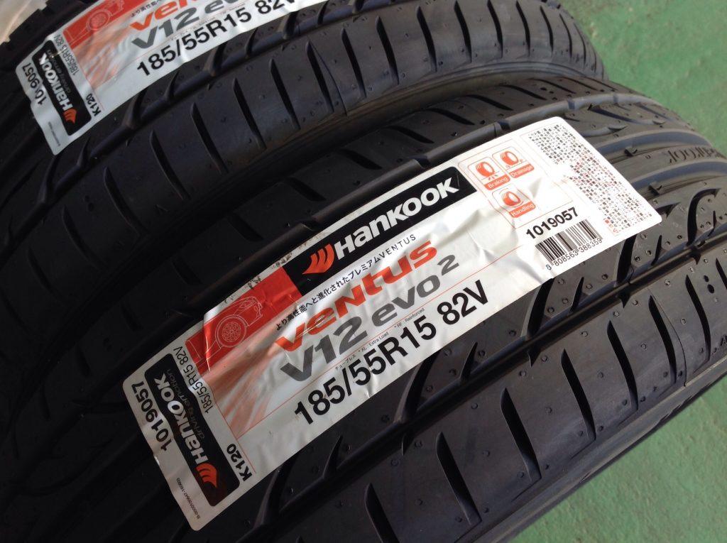 ハンコックタイヤのヴェンタスK120です。