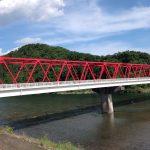 近くを流れる長良川です。